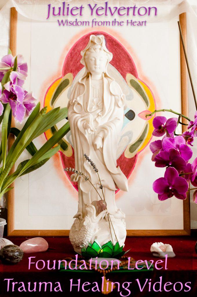 Trauma informed healing course Juliet Yelverton Glastonbury healing waters